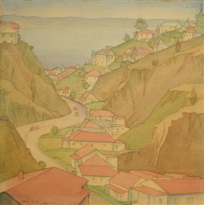 Shakespeare.Road,Napier,1932,Rita.Angus.jpg