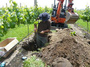 大沢ヴィンヤード 土壌水量の測定